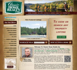 Brainerd MN Lakeshore and Real Estate for Sale