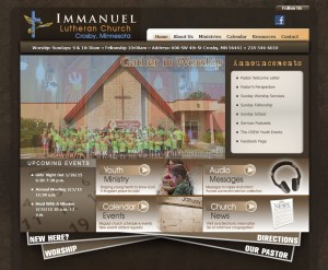 church website design ideas mission hills church brainerd mn website - Church Website Design Ideas